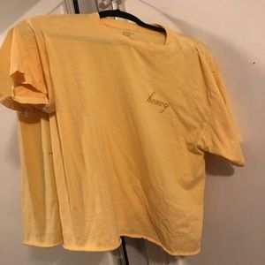 "Yellow ""Honey"" t-shirt from Nordstrom"